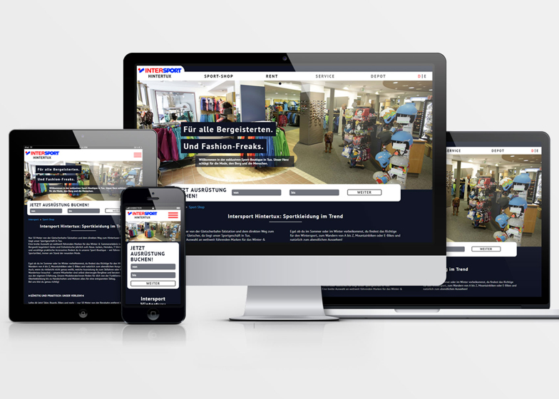 Intersport Website
