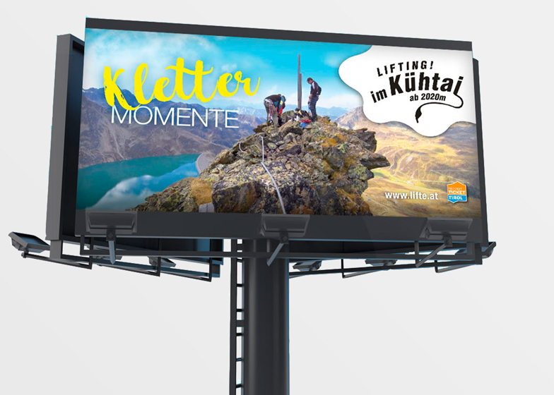Kühtai Billboard